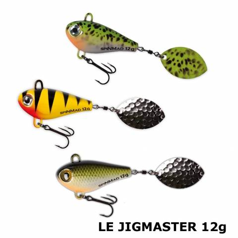LEURRE JIGMASTER 12g SPINMAD / Spinners/Buzzbaits