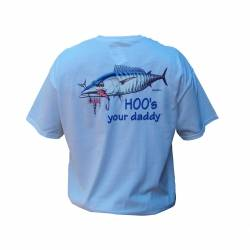 TEE-SHIRTS PECHE AFTCO Hoo s your daddy