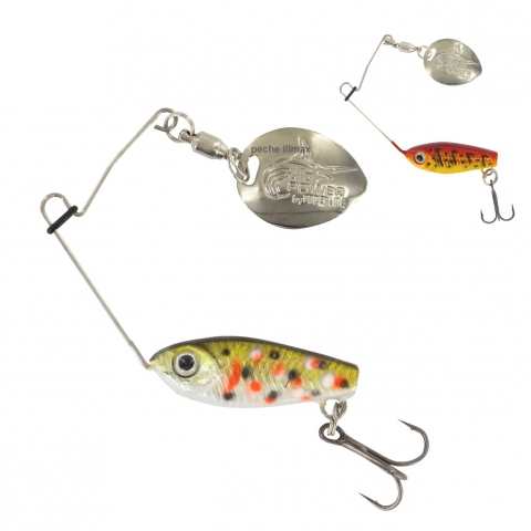 MICRO SPINNERBAIT YOGOSPIN 8G POWERLINE / Spinners/Buzzbaits